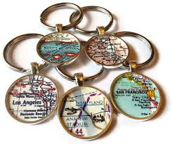 personalized keychain gifts personalized keychain custom keychain custom map keychains