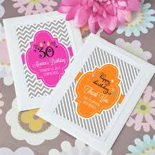 personalized seed packets personalized birthday seed packets