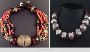 tribal jewellery chic and rustic