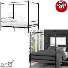 Platform Canopy Bed Canopy Beds Ebay