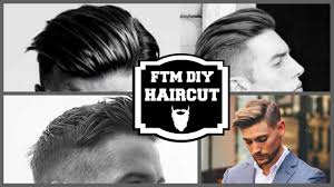 diy mens haircut ftm diy haircut youtube