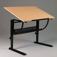 Artist Drafting Table Tilting Drafting Table Stool Art Work Desk Drawing Artist