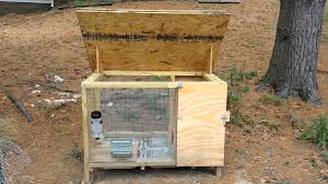 Homemade Rabbit Cage Rabbit Hutch Home Made Youtube