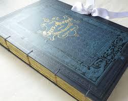 Large Scrapbook Unique Guest Books Journals U0026 Scrapbooks By Spellbinderie On