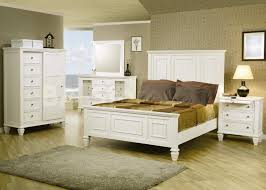 White Painted Bedroom Furniture Decorations Attractive White Color Bedroom Furniture Decorating