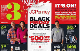 best black friday deals jcpenney jcpenney 2015 black friday ad deals full list released the