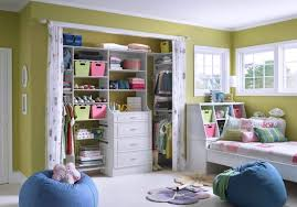 closets without doors bedroom organization ideas for different needs of the family