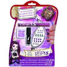 ever after high nail art kit rebel rebel fashion nail art
