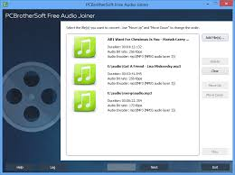 mp3 audio joiner free download full version pcbrothersoft free audio joiner free audio joiner is to help join