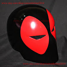 Deadpool Halloween Costume 1 1 Wearable Custom Halloween Costume Deadpool Helmet Dj Mask