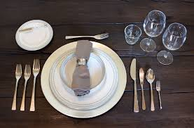 Proper Table Setting Silverware Table Setting Art Or Science Flathead Living
