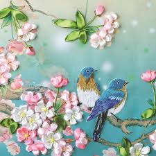 silk ribbon embroidery silk ribbon embroidery kits the sitting roomdecorative flowers 3 d