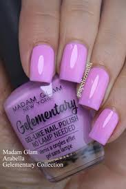 grape fizz nails new madam glam new york gelementary swatches
