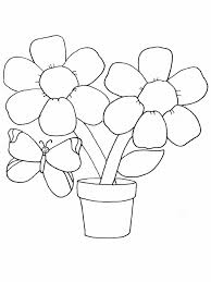 coloring pages coloring pages of flowers and butterflies flower