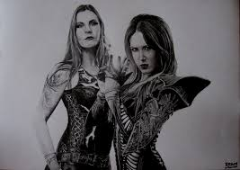 floor jansen and alissa white gluz by bramscorps on deviantart