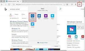 cortana take me to my facebook page how to set cortana reminders in microsoft edge windows central