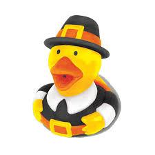 thanksgiving pilgrim rubber ducky favor rubber ducky