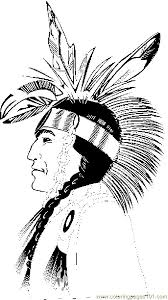 free coloring native american freeprintable nativeamerican