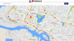 Oakland Map Oakland Map Android Apps On Google Play