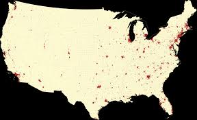 Map Of Kissimmee Map Of Urban Areas And Urban Clusters Of The Us As Defined By The