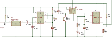 remote control on off light switch remote operated switch buildcircuit electronics