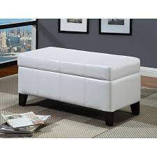 buying cheap simple white storage bench on internet online