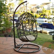 Patio Egg Chair Outdoor Egg Wicker Chair By Christopher Knight Home By Christopher