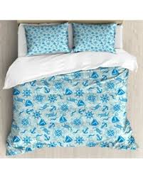 Anchor Bedding Set Here S A Great Price On Compass King Size Duvet Cover Set Various