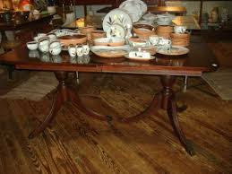 Duncan Phyfe Dining Room Set Mahogany Duncan Phyfe Dining Table Vintage Antique What U0027s It Worth
