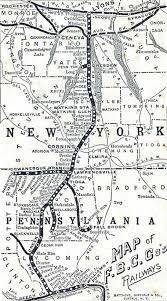 map of williamsport pa fall brook railway