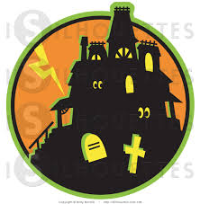 halloween house clipart royalty free halloween stock silhouette designs