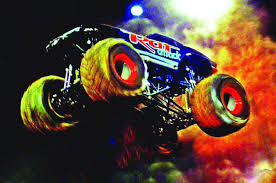 fire trucks monster truck stunt monster trucks return to holt arena in pocatello on saturday