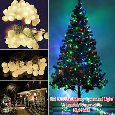 eve drop christmas lights led battery rattan ball flower water drop string lights 2m 20led