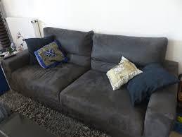 canapé microfibre gris achetez beau canapé gris quasi neuf annonce vente à chaux 21