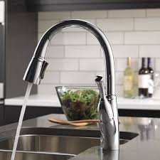 allora kitchen faucet delta allora pull touch single handle kitchen faucet with
