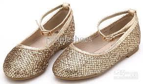 wedding shoes for girl bright golden princess wedding shoes shoes shining effect