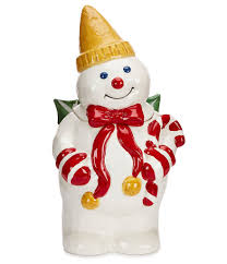 noble excellence holiday mr bingle cookie jar mr bingle