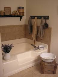 small vintage style bathroom decorating ideas features gray