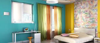chambre avec papier peint le papier peint en tête de lit 4murs
