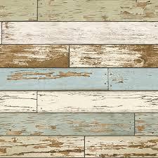 vintage wood plank nu2188 green salem vintage wood planks peel stick wallpaper