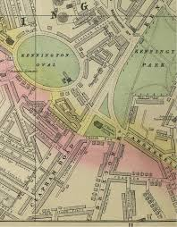 Map Of Oxford England by Vauxhall Kennington U0026 The Oval Maps