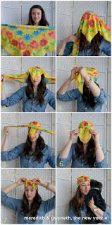 how to tie a turban meredith u0026 gwyneth the new yorkie try this