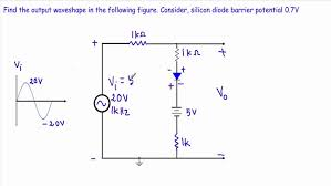 negative clamper circuit to 0v youtube wiring diagram components