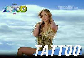 tattoo lyrics abcd 2 shefali alvares
