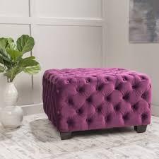 Pink Ottoman Pink Ottomans Joss