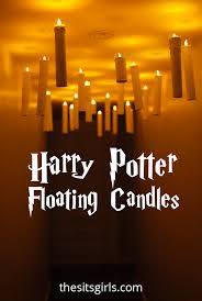 floating ghosts halloween floating candles harry potter and