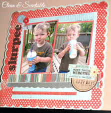 Scrapbook Inserts Quick And Easy Scrapbooking Clean And Scentsible