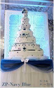 wedding cake surabaya zp navy blue by it s cake surabaya bridestory