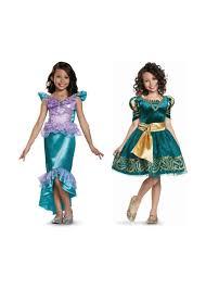 girls halloween costums disney merida and ariel little girls costume girls costumes