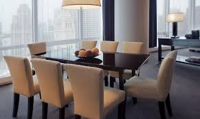 Dining Room Furniture Chicago Fine Dining Chicago Trump Chicago In Room Dining Boutique